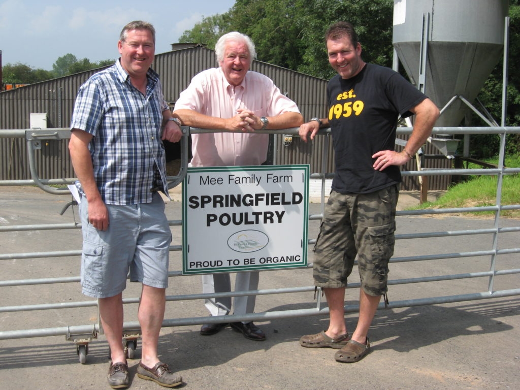 the motley crew springfield poultry herefordshire from left stewart rodney and nigel mee