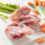 Organic Whole Chicken Carcass with celery, leeks, and chantenay carrots