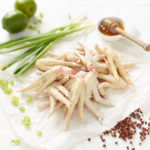 Free Range Chicken Feet with lime, spring onion, honey and herbs