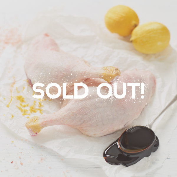 Duck Legs Sold Out